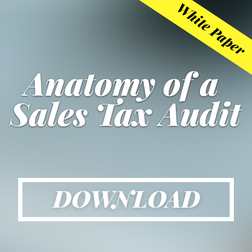 Download Anatomy of a Sales Tax White Paper from Davis & Davis Sales Tax Experts