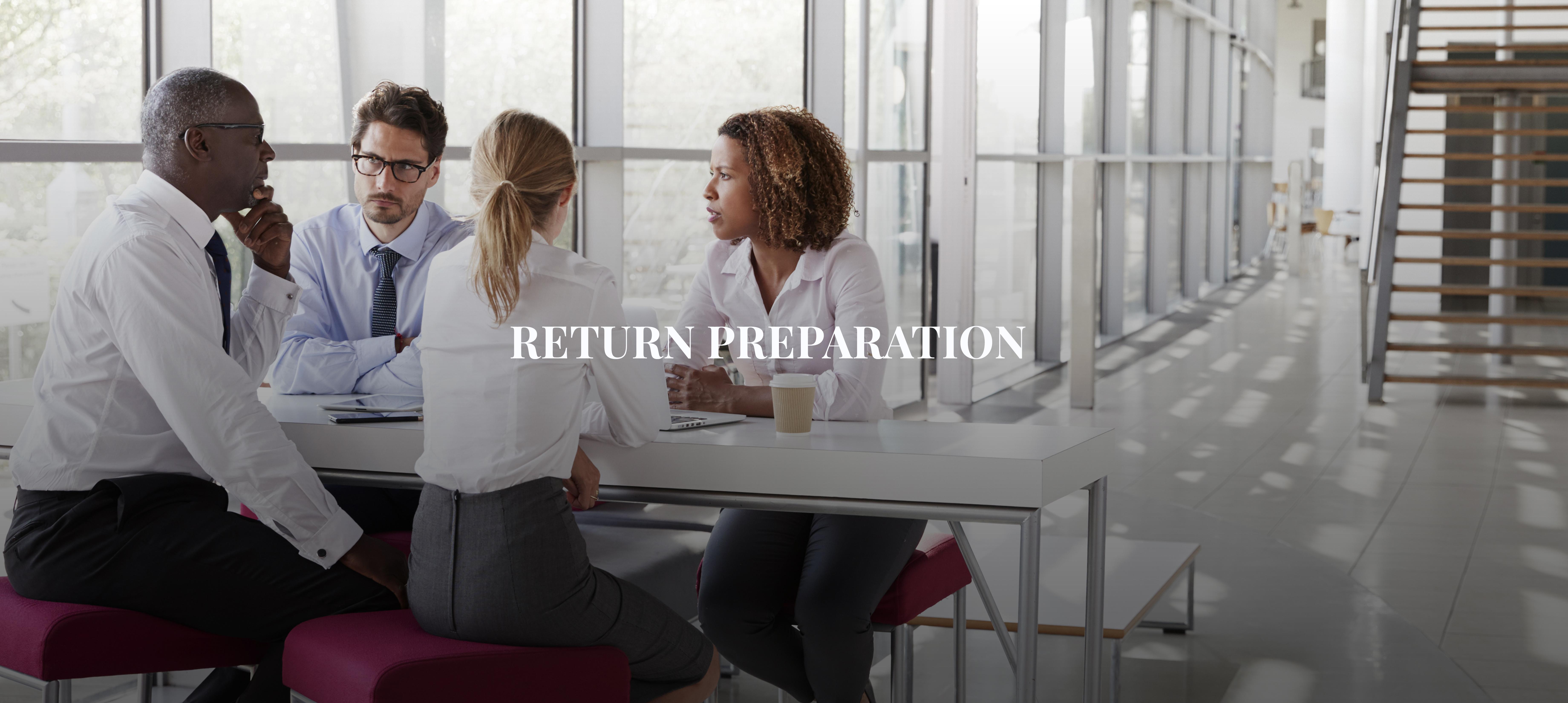 Return Preparation at DDH Tax